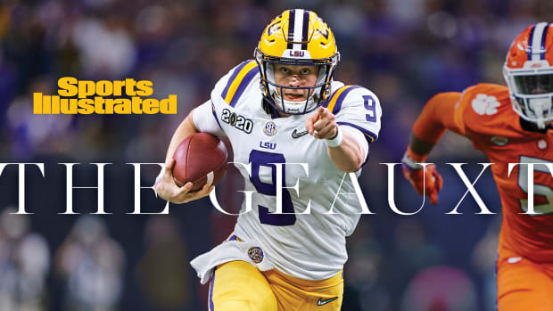 LSU Digital Cover: Joe Burrow