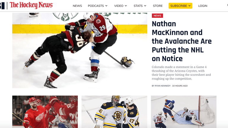 Sports Illustrated, The Hockey News Launch Unified Hockey Partnership on Maven's Digital Platform